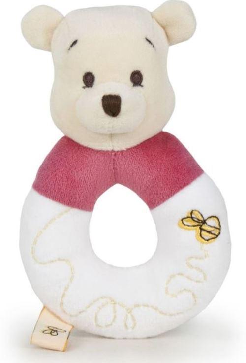 Disney - Doudou Hochet Winnie l'ourson - 14 cm