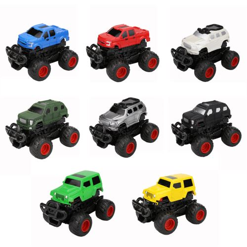 Mini véhicule Pull Back Voitures avec Big Wheel Tire Creative Gifts For Kids