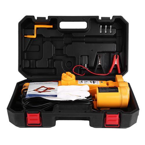 12 V 2 Tonnes 125-420mm Cric Auto Voiture Jack de Levage Équipement d'Urgence