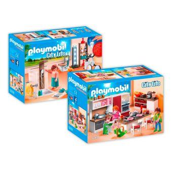 PLAYMOBIL 9268-9 Maison moderne - 2 boîtes - 9268+9269