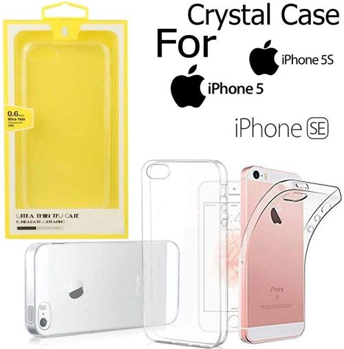 Coque Iphone 5 / 5S / 5SE Crystal Case