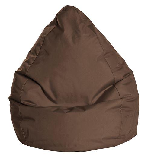 Pouf Poire Brava XL Chocolat