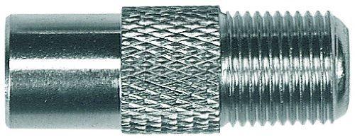 Axing CFA 5-00 Adapter IEC-Stecker auf F-Buchse (100 St?ck) (Import Allemagne)