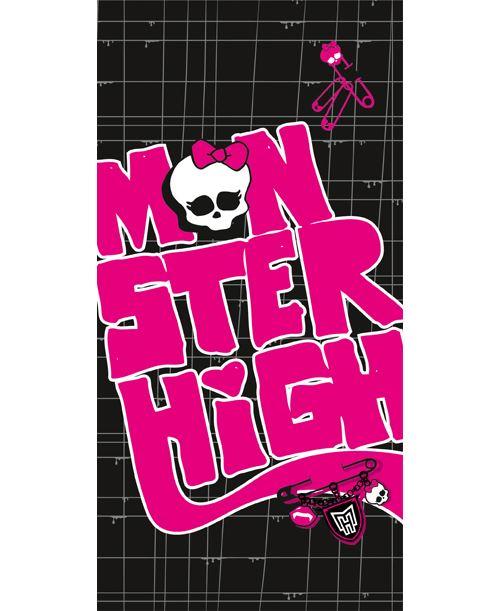 Drap De Plage Monster High Black Velvet