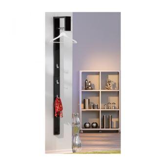 garde robe porte manteau d entr e avec crochet penderie dressing moderne noir achat prix fnac. Black Bedroom Furniture Sets. Home Design Ideas
