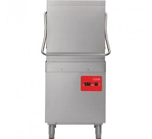 Lave vaisselle à capot professionnel 2 Cycles panier 500x500 mm -