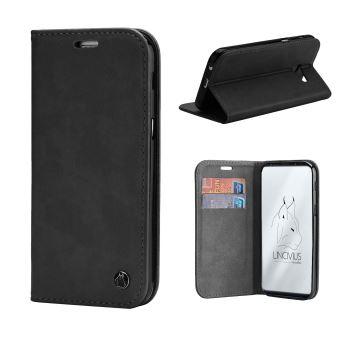 Coque Samsung Galaxy S9 Plus, Lincivius®  FOLIO , Etui Samsung Galaxy S9  Plus Housse Rabat Fermeture Magnétique Noir, Protection Antichoc Integrale  - Etui ... a8f54ba1cbf8