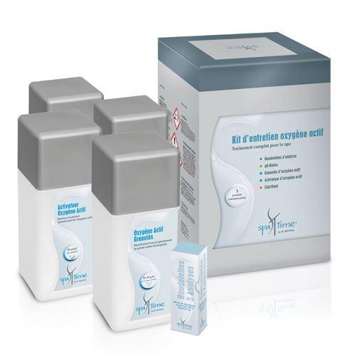 kit complet de produits pour le traitement à l'oxygene actif - kit spa oxygene actif