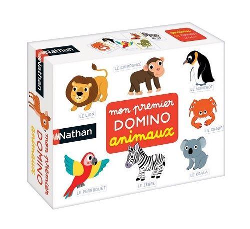 Mon premier domino animaux du monde - 28 dominos - jeu educatif