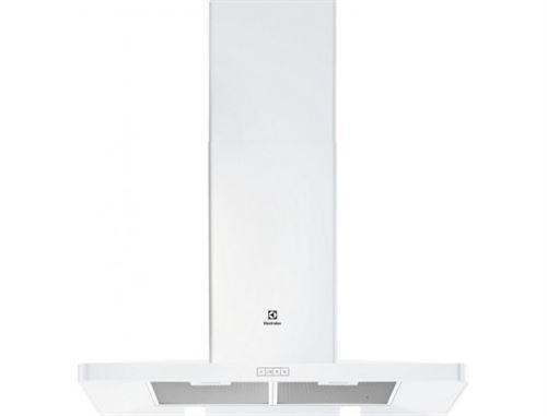 Electrolux EFF90462OW - Hotte - hotte décorative - largeur : 89.8 cm - profondeur : 50 cm - evacuation & recyclage - blanc