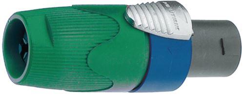 Neutrik NTR-NL4FX-5 Prise de câble, Vert Speakon 4p