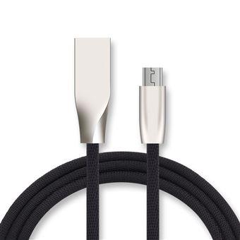 Cable Fast Charge Micro Usb Pour Lenovo Vibe A Plus Smartphone Android Chargeur 1m Connecteur Recharge Rapide Noir