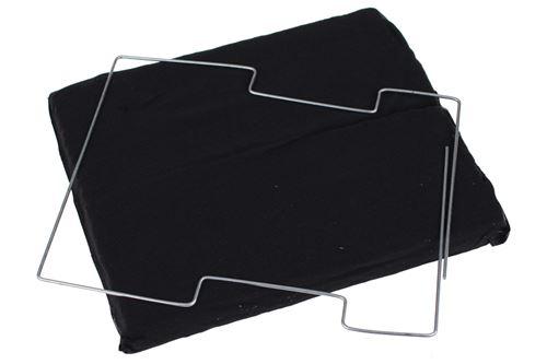 Accessoire hotte Wpro Filtres à charbon de hotte CFW 020