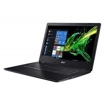 "Acer Aspire 3 A317-51-56PH - Core i5 8265U / 1.6 GHz - Win 10 Home 64 bits - 8 GB RAM - 128 GB SSD + 1 TB HDD - DVD-brander - 17.3"" TN 1600 x 900 (HD+) - UHD Graphics 620 - Wi-Fi - schaliezwart - tsb Frans"