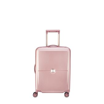 taille 40 a3b31 bae7a Valise cabine à 4 roues Delsey Turenne Taille S 55 cm Rose