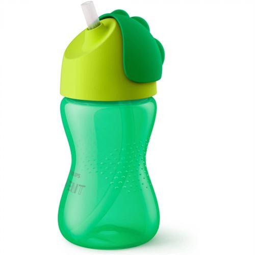 Tasse paille 260 ml vert - philips avent