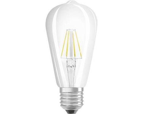 LED E27 OSRAM GLOWdim 4058075809635 7 W = 60 W blanc chaud (Ø x L) 64 mm x 165 mm