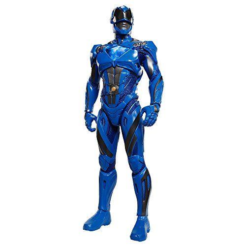 Power Rangers, grande figurine de film Ranger FIGS, 20, bleu