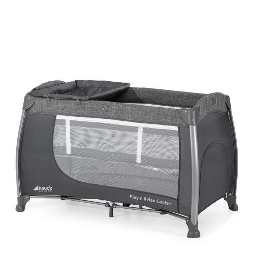 Lit parapluie Play N Relax Center - Melange grey
