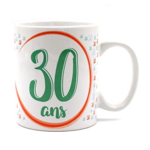 Mug - à message unique spécial Anniversaire 30 ans
