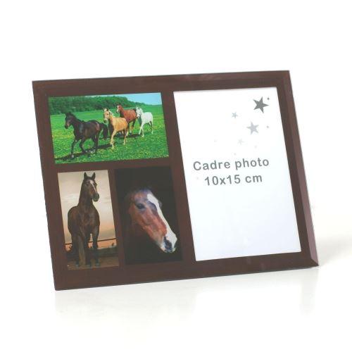 Cadre Photo 10 x 15 cm - Chevaux de Toutes Couleurs