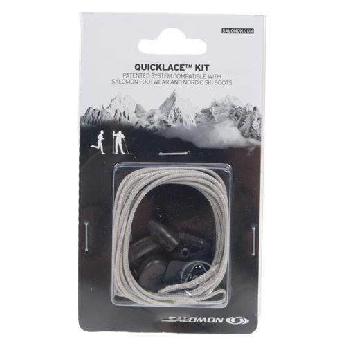 Accessoire salomon quicklace kit grey 60441