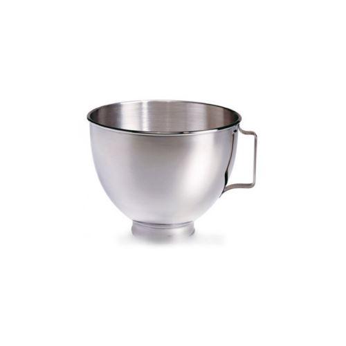 Bol de 4,30 litres avec poignee pour robot multifonctions kitchenaid - k45sbwh