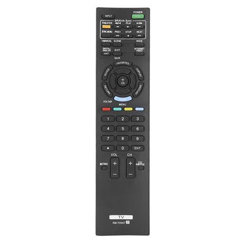 Télécommande du téléviseur pour téléviseur Sony RM ‑ YD047