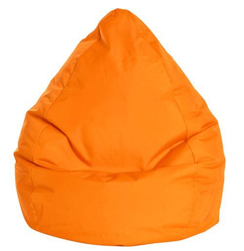 Pouf Poire Brava XXL orange