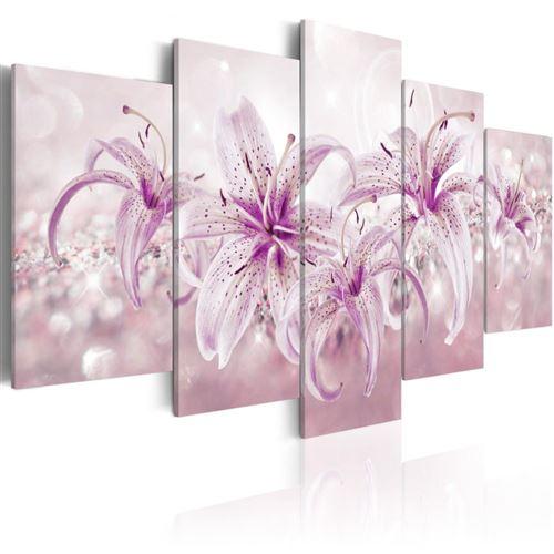 Artgeist - Tableau - Purple Harmony 100x50