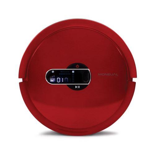 Moneual MR7700-R Robot Aspirateur Rouge