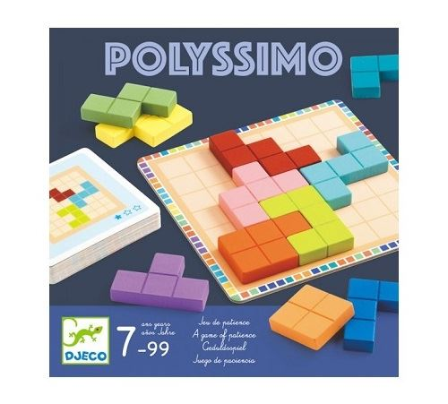 Polyssimo - jeu de patience - djeco 7-99 ans