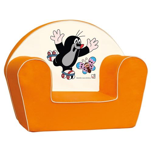 Bino Licence 53 x 42 x 33 cm Petite Taupe Chaise (Orange)