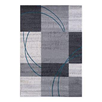 Tapis contemporain gris pour salon nati - Achat & prix | fnac