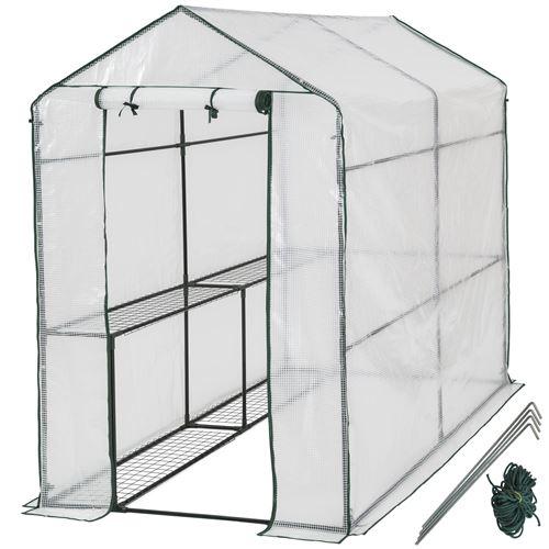 TecTake Serre de jardin souple 2,23 m²