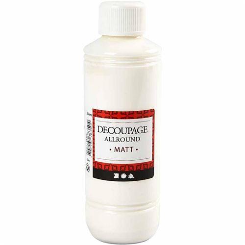 Creotime vernis de découpage mat 250 ml