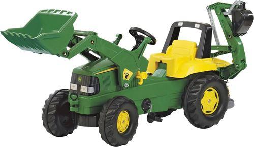 Rolly Toys Tracteur à pédales RollyJunior John Deere vert