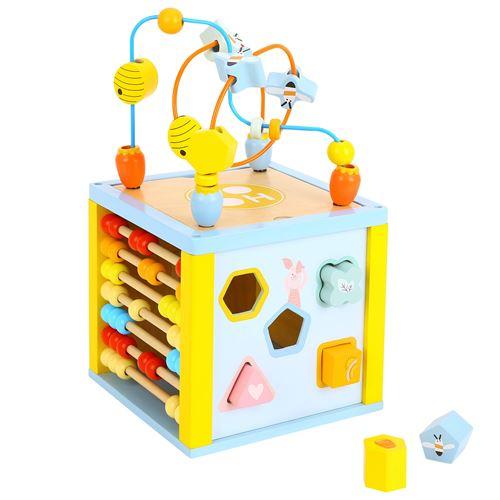 Cube d'activité en bois - Disney Winnie