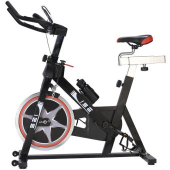 ise cardio vlo biking spinning vlo dappartement intrieur noir 7003 vlos de cardio training achat prix fnac