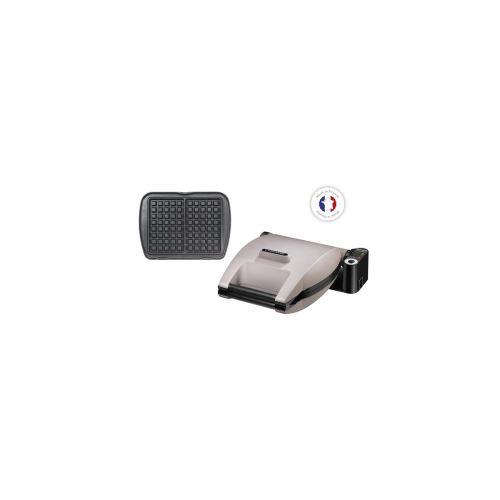 Lagrange Premium Gaufres - Gaufrier - 1200 Watt - gris perle