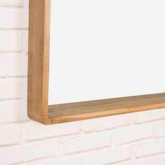 Miroir salle de bain en teck Samba 140 x 65 cm - Achat & prix | fnac