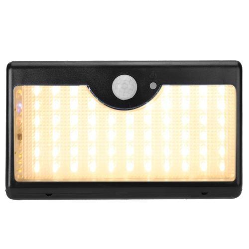 Lampe Solaire Pour Escalier 60 Led Coquille Noire Lumiere Chaude