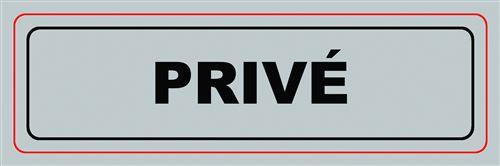 Panneau Privé VISO - 170 x 50 mm - S14