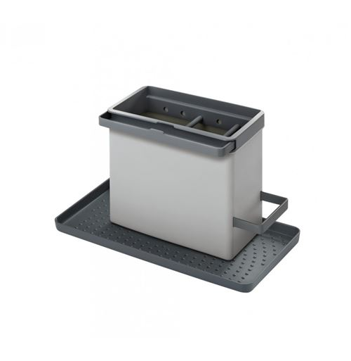 Bac de rangement modulable pour évier - 24 x 13 x 14 cm