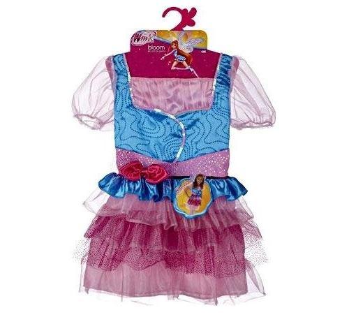 Winx club - déguisement de fée bloom believix taille 4-6 ans