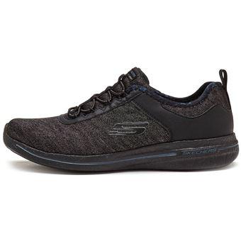 Skechers Burst Sunny Side Femmes Chaussures Noir de sport in Noir Chaussures b1108a