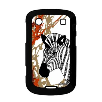 Coque Bold 9900 Zebre Noir Et Blanc Dessin Case Art De Protection En