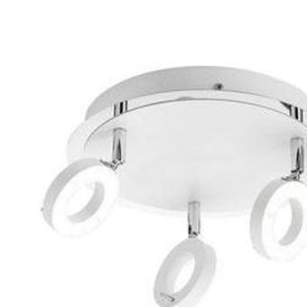 Plafonnier LED Pour Salle De Bain Blanc Chaud Paul Neuhaus 6788 16 Sileda  18 W Blanc   Achat U0026 Prix | Fnac