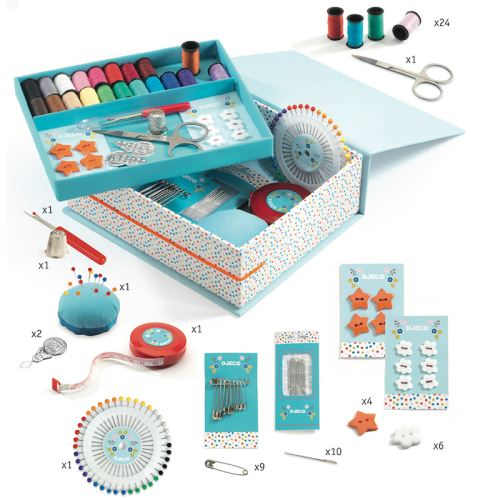 Kit créatif Djeco Ma boîte à couture