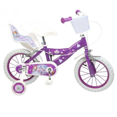 Vélo enfant 12 pouces la Princesse Sofia Licence Officielle Disney